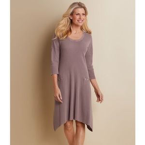 Soft Surroundings Jaqui Frost Thermal Dress